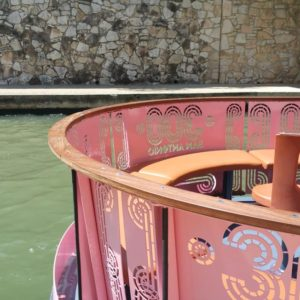 San Antonio River Walk Boat Rails