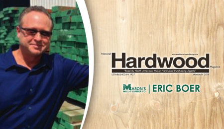 Mason's Mill's Own Eric Boer Featured in National Hardwood Magazine