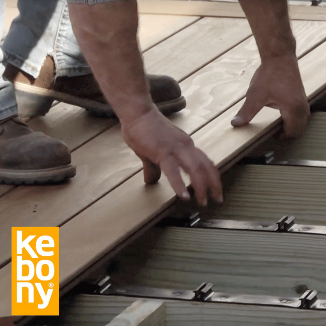 South Carolina Home uses Step-Clip for Kebony System