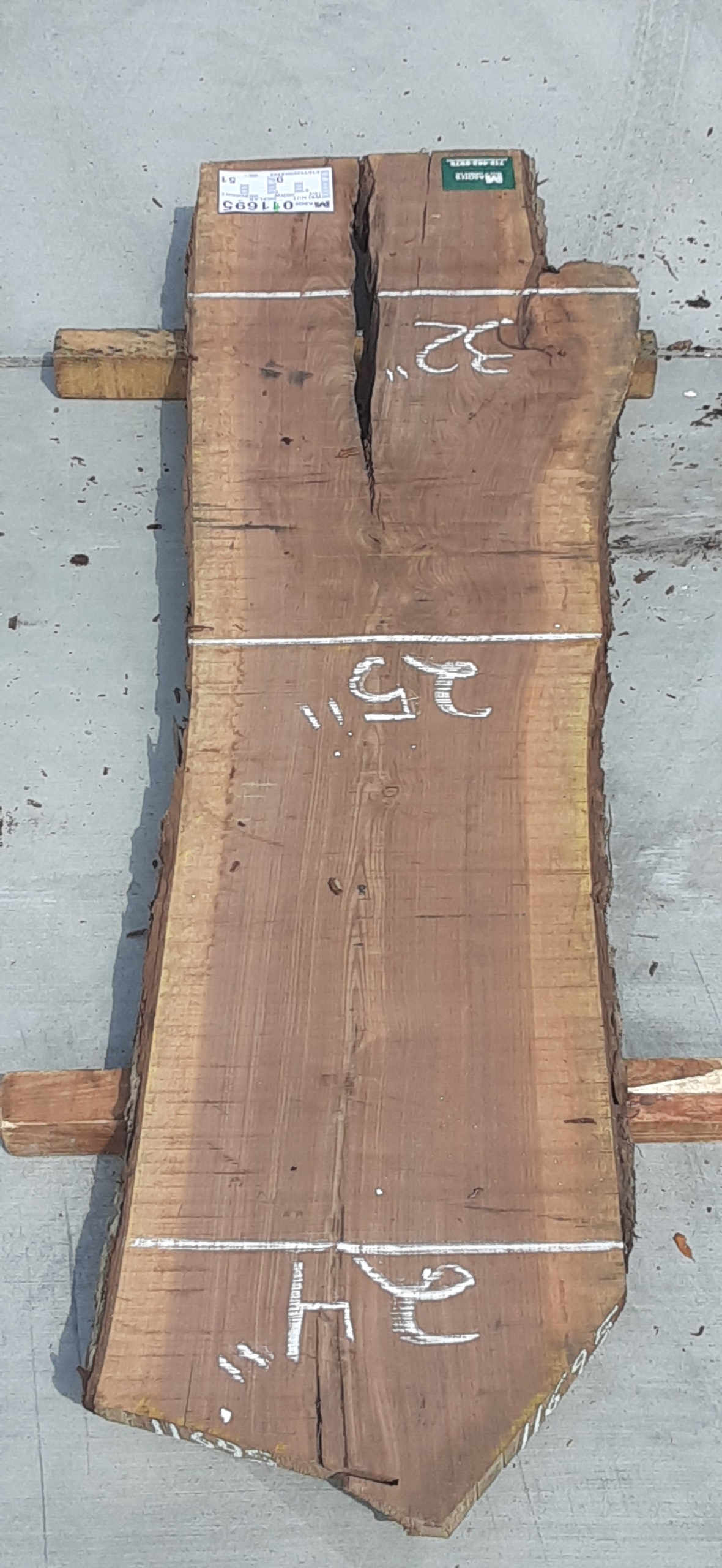 Walnut Slab 11695 Image