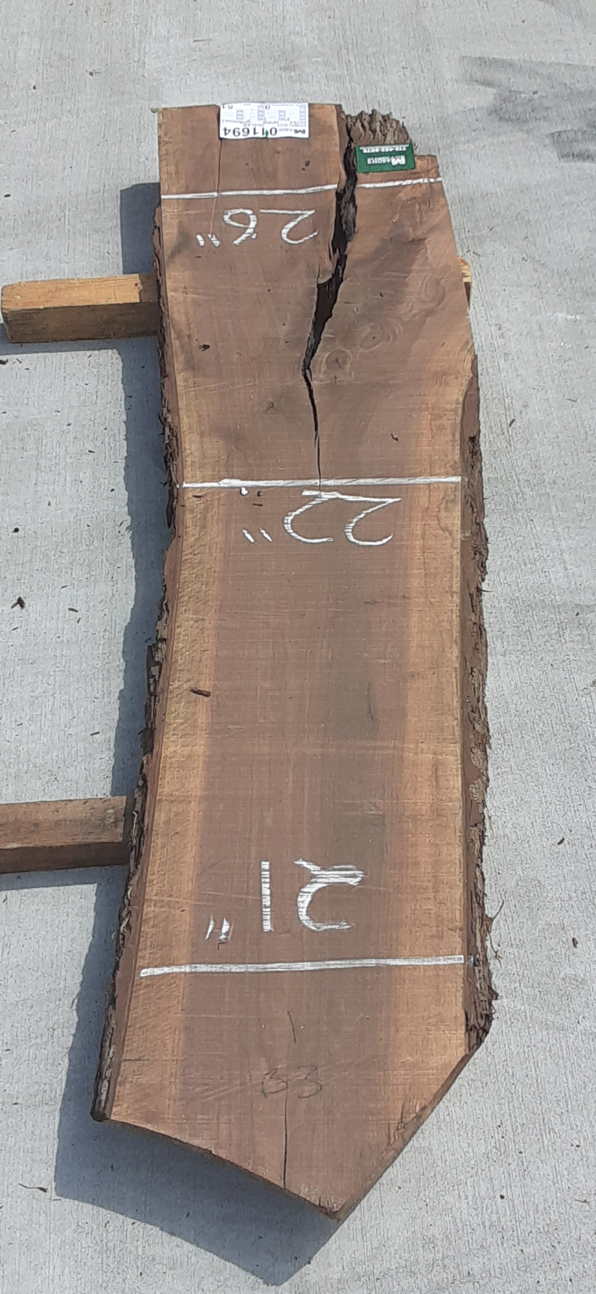 Walnut Slab 11694 Image