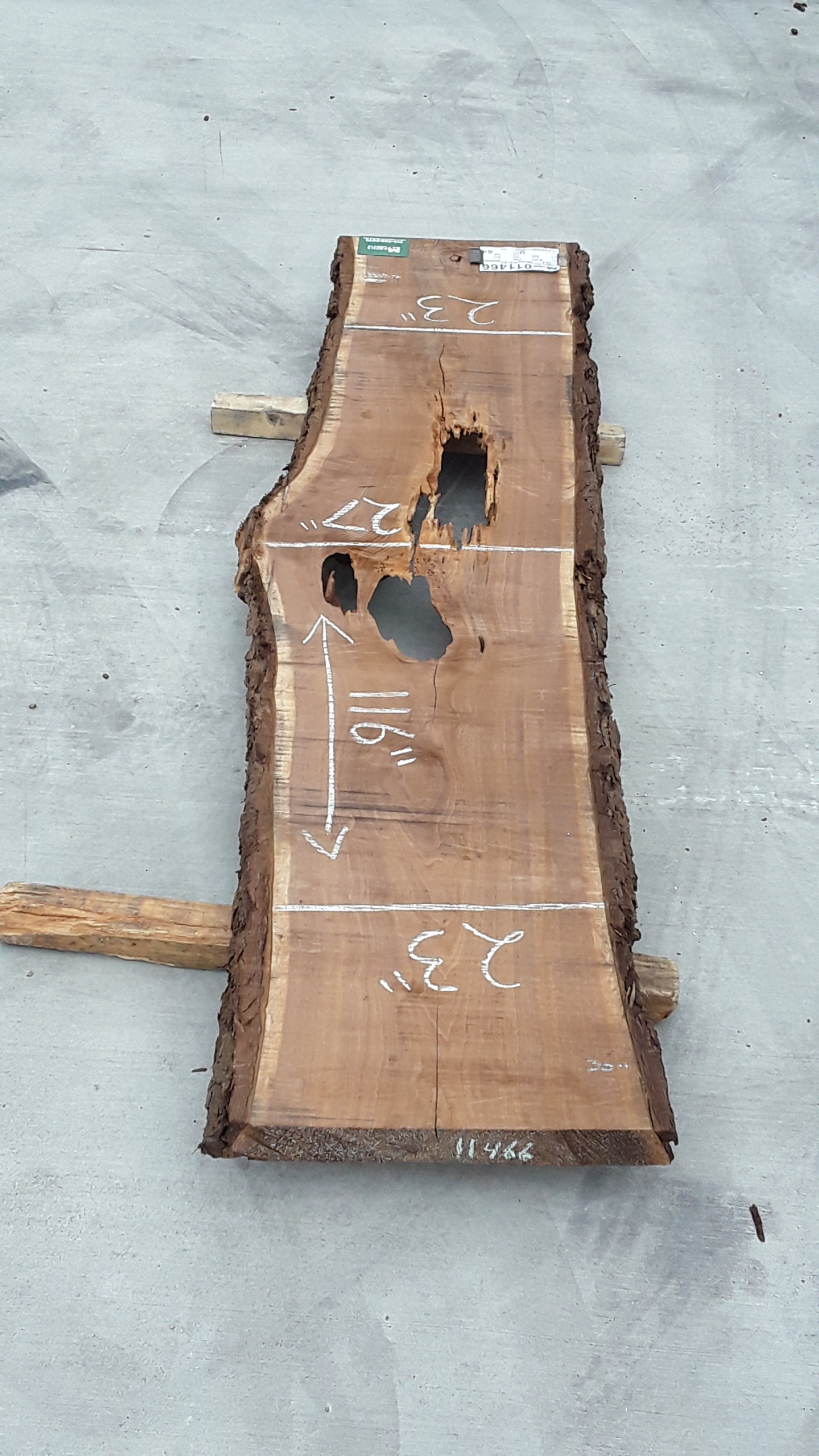 Walnut Slab 11466 Image