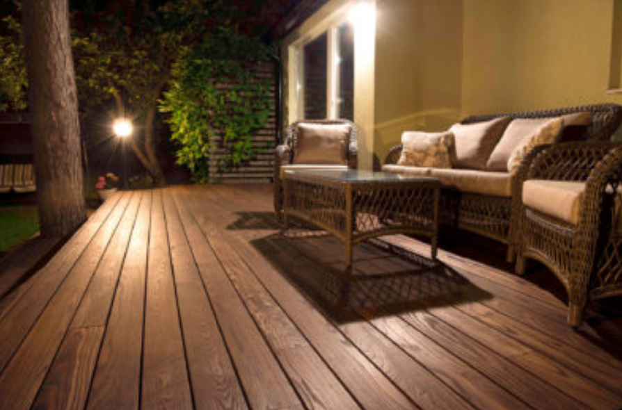 Thermory Decking Image